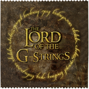 Презерватив The lord of the strings