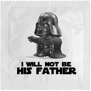 Презерватив I will not be his father
