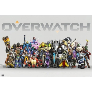 Постер Overwatch Anniversary Line Up