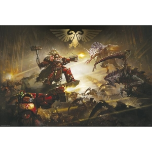 Постер Warhammer The Battle Of Baal