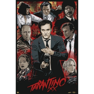 Постер Tarantino Movie Collage