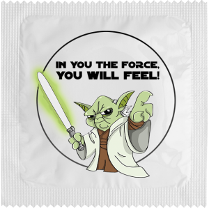 Презерватив In you the force you will feel