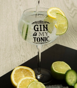 Чаша за джин Gin is my tonic