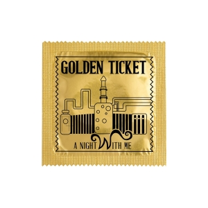 Презерватив Golden Ticket