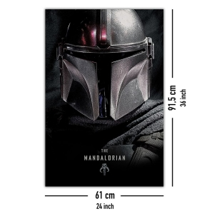 Постер Star Wars: The Mandalorian Dark