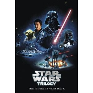 Постер STAR WARS TRILOGY THE EMPIRE STRIKES BACK