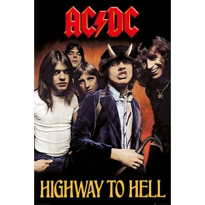 Постер AC/DC Highway to Hell