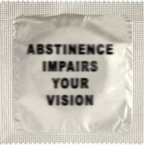 Презерватив Abstinence impairs your vision