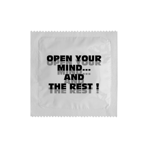 Презерватив Open your mind
