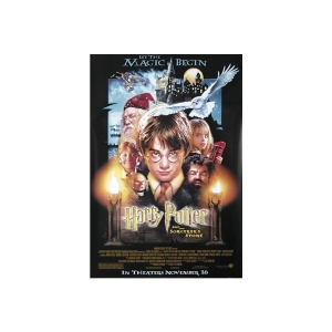 Постер HARRY POTTER - AND THE SORCERER'S STONE