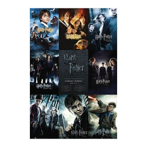 Постер Harry Potter Collector's Edition  2001-2011