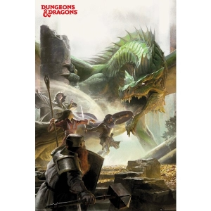 Постер Dungeons & Dragons Adventure