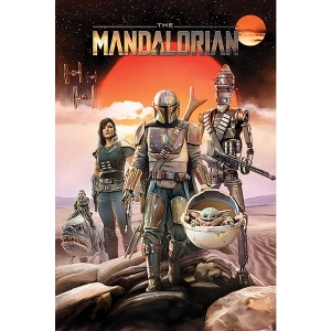 Постер Star Wars: The Mandalorian