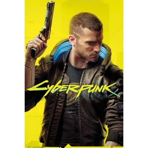 Постер Cyberpunk 2077 Ready Player V (Male)