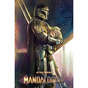 Постер The Mandalorian A Clan Of Two