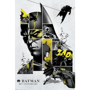 Постер Batman 80th Anniversary
