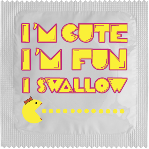 Презерватив Im cute, Im fun, I swallow